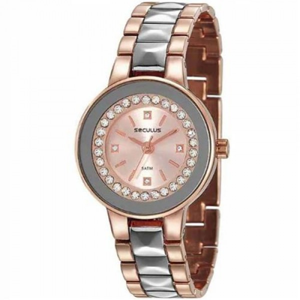 Relógio Feminino Seculus 23605LPSVGB3 Rose